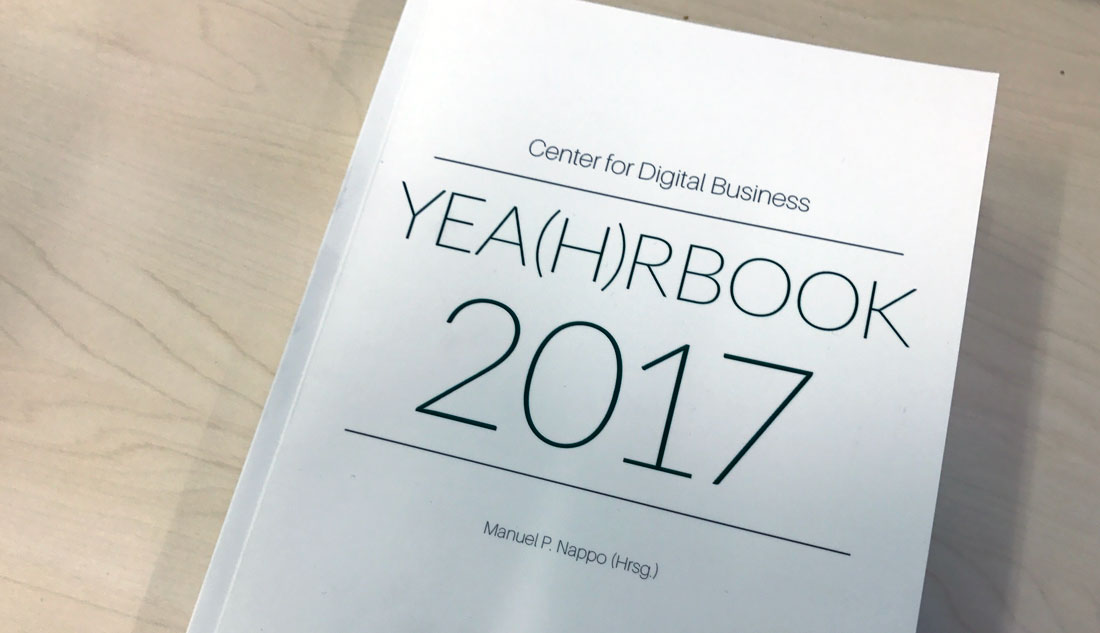Yea(h)rbook 2017 Center for Digital Business